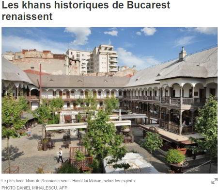 Despre români, în presa canadiană / Renasc hanurile istorice din Bucureşti