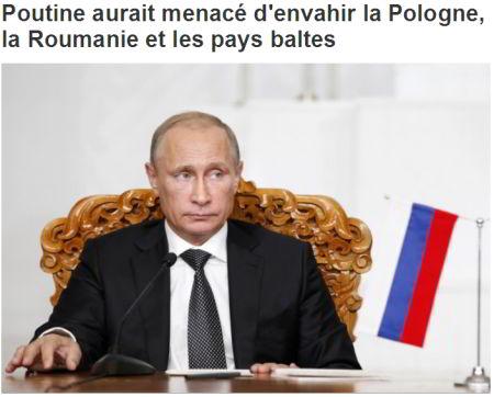Despre români, în presa canadiană / Putin ameninţă România?