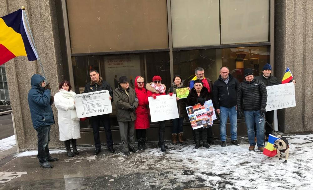 Proteste și la Montreal. Cele mai mari proteste de stradă din România post-comunistă