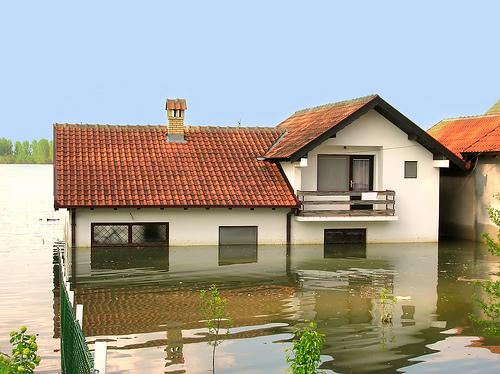 Casa inundată. Ce este de făcut?