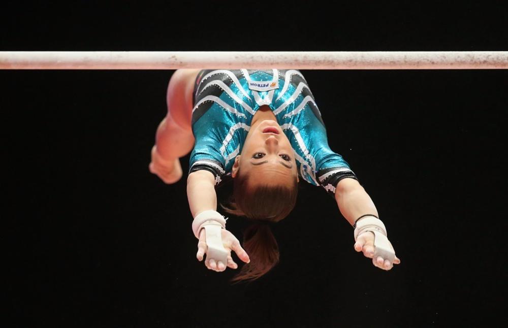 Gimnasta Larisa Iordache, optimistă că va reveni în competiții