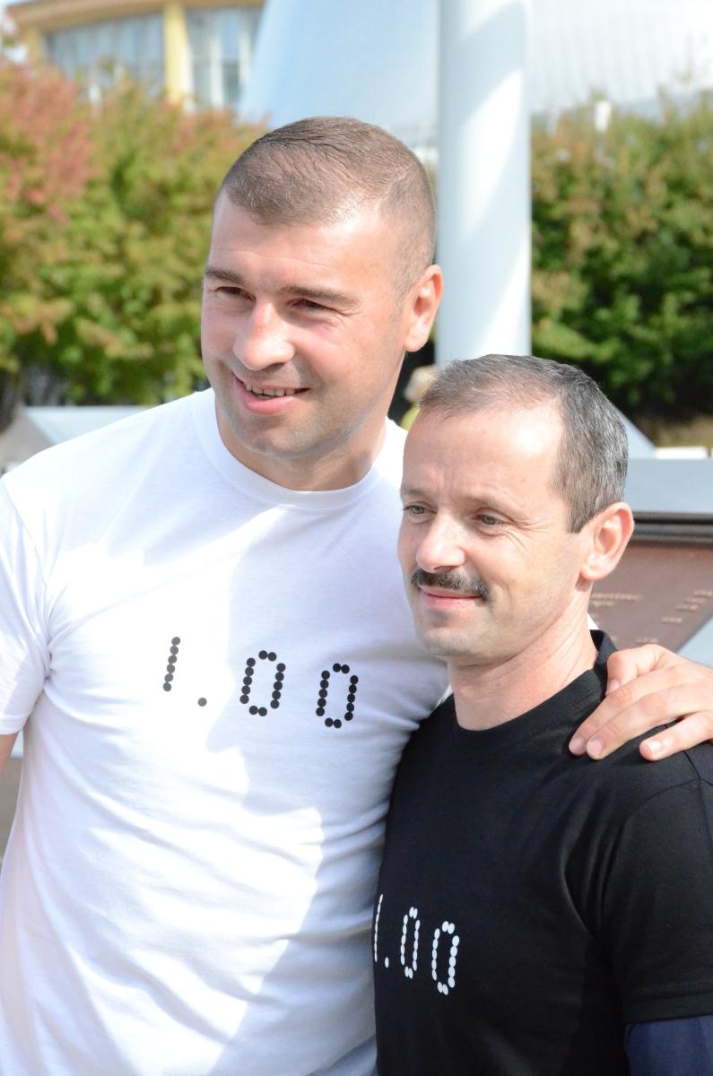 Lucian Bute și Marius Urzică