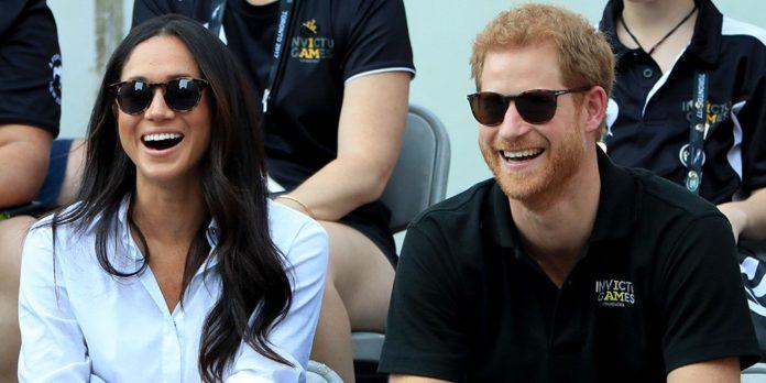 Prince Harry and Ms. Meghan Markle.