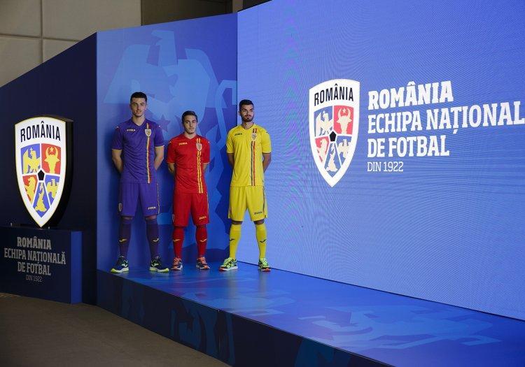 Galerie foto. Naționala României de fotbal are un nou echipament
