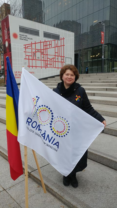 Flashmob românesc de 1 decembrie la Montreal