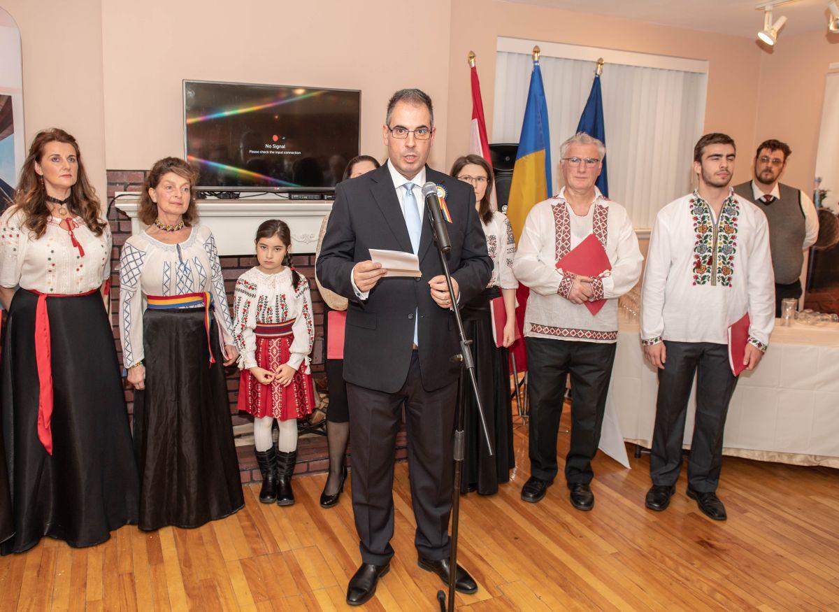 Ziua Națională la Ambasada României la Ottawa