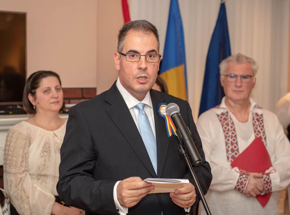 bogdan manoiu Ziua Națională la Ambasada României la Ottawa