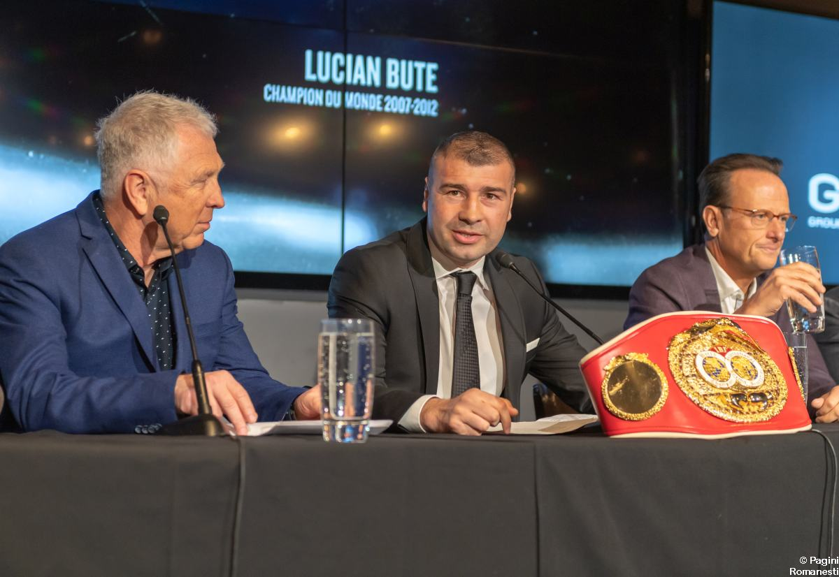 Lucian Bute se retrage din box