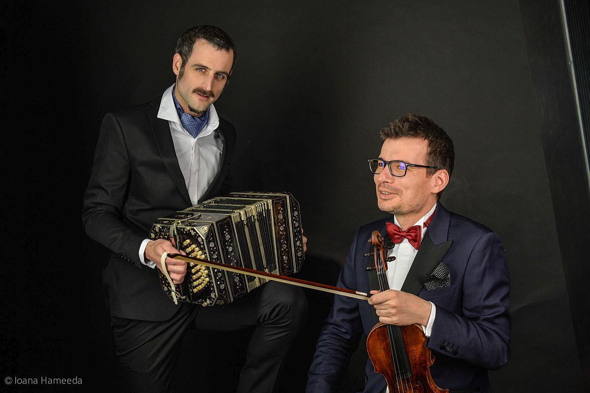 Omar Massa și Alexandru Tomescu