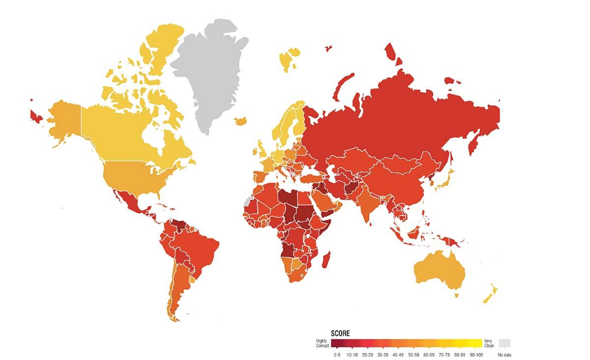 coruptie Transparency International