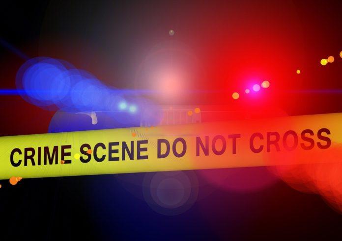 Police Crime Scene Blue